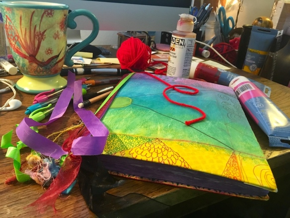 Art Journals, Tea and Conversation